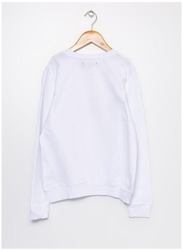 Lee Cooper Lee Cooper Beyaz  Sweatshirt Beyaz